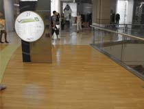 1400 square meters of Carbonized strand woven bamboo flooring from Romania