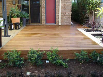 Outdoor Bamboo Floor