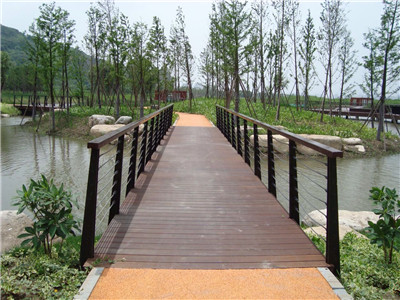 Outdoor Strand Woven Structure Bamboo Decking